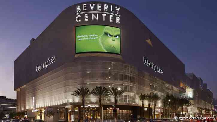 Taubman, owner of Beverly Center mall, sold for $3.6 billion