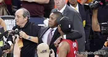 Toronto Raptors' Masai Ujiri sued by Oakland deputy over shoving match