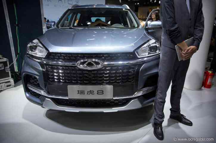 Irvine company plans to sell China-designed SUVs in U.S.
