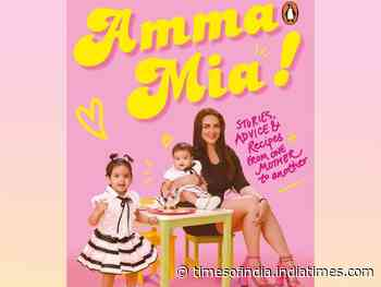 Esha Deol announces her first book 'Amma Mia'