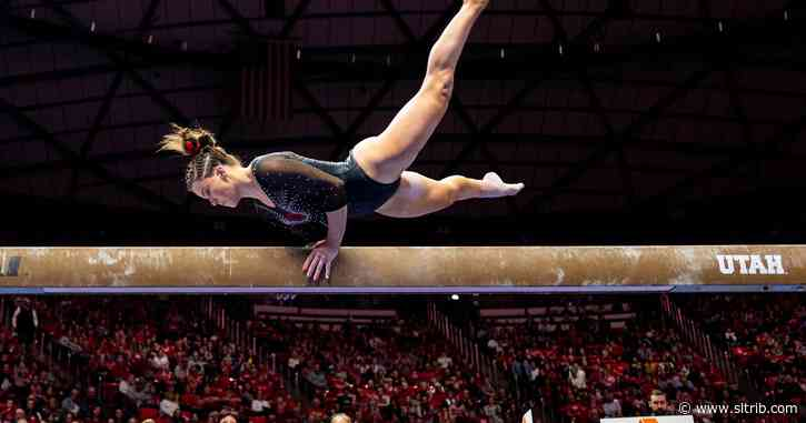 Utes gymnastics off to a sizzling start, now ranked 3rd