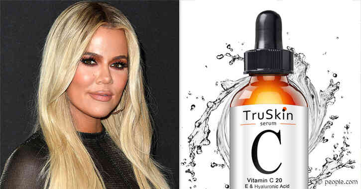 Khloé Kardashian's $20 Vitamin C Serum Just Made Amazon's List of Most-Loved Products