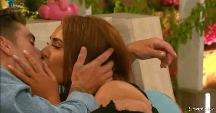 Love Island: Luke Mabbott and Demi Jones kiss and fans are living for it