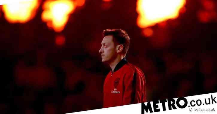 Mesut Ozil and Alexandre Lacazette take swipes at Unai Emery and back Arsenal manager Mikel Arteta