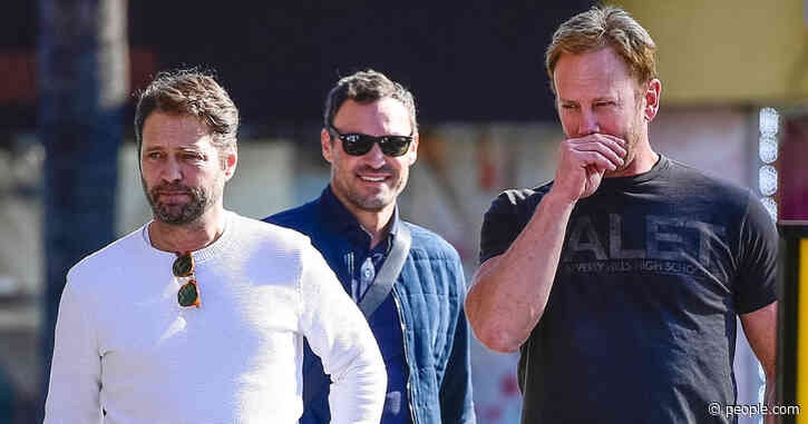 90210Reunion! Jason Priestley, Brian Austin Green and Ian Ziering Spotted Together in L.A.