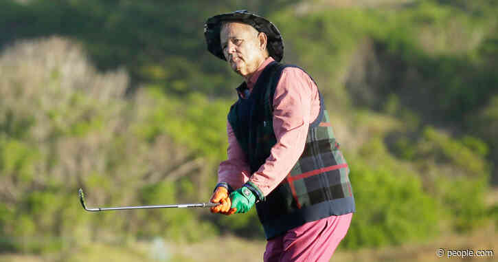 Bill Murray Fixed His Bad Putt with Epic Violation at Golf Tournament — But the Crowd Loved It