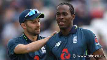 England bowlers Jofra Archer and Mark Wood could alternate - Chris Silverwood