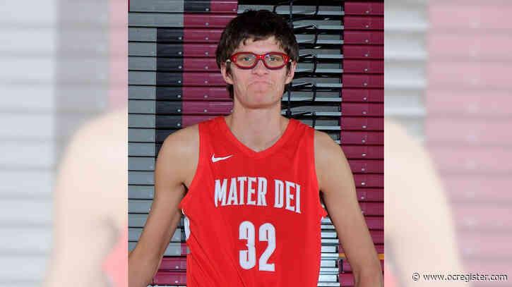 Orange County boys athlete of the week: Wilhelm Breidenbach, Mater Dei
