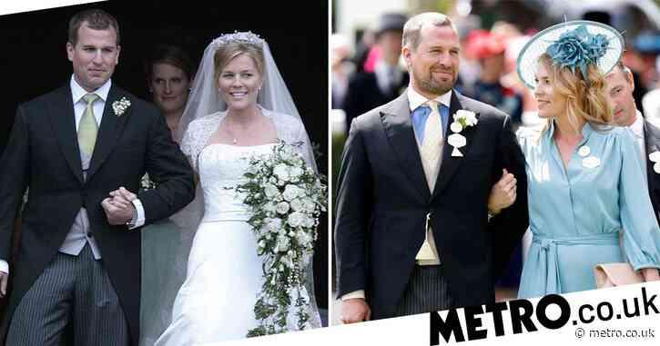 Queen's eldest grandson Peter Phillips 'splits with wife of 12 years'
