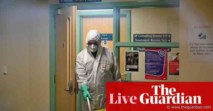 Coronavirus: new UK cases are closely linked, official says – as it happened