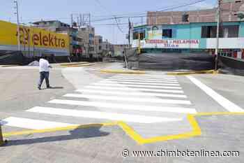 Briceño anunció término de obras del dren de las avenidas Aviación y Pardo - Diario Digital Chimbote en Línea