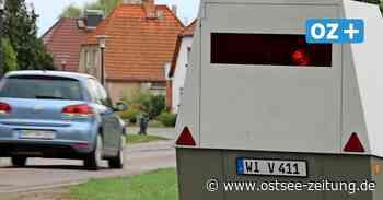 Abzocke oder Gefahrenabwehr: Hier blitzt es in Vorpommern - Ostsee Zeitung