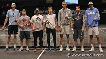 Find Out Who John Isner, Ivo Karlovic, Reilly Opelka & Ugo Humbert Struggled To Ace In New York - ATP Tour