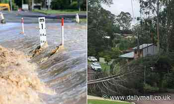 Fears grow for missing couple who were washed away by floodwaters in Queensland