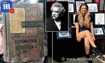 Artist is stunned to find a $3,000 Mark Twain first edition printed in 1883 for just $5