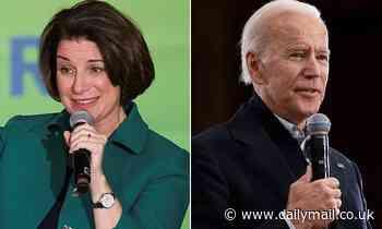 Amy Klobuchar surges ahead of Joe Biden in New Hampshire