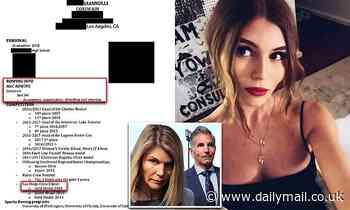 Prosecutors reveal fake resume Lori Loughlin's daughter Olivia Jade used to get into USC