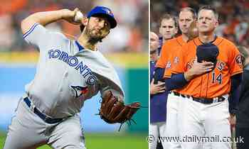 Ex-Blue Jays pitcher sues Astros over 2017 sign-stealing scandal