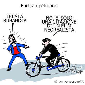Ladri di biciclette... in azione a Venegono Superiore - VareseNoi.it