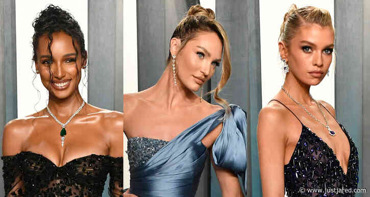 Candice Swanepoel Dons Super-Short Shorts for Vanity Fair Oscar Party 2020!