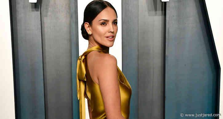 Eiza Gonzalez Is Golden Like Oscar Award at Vanity Fair Party!