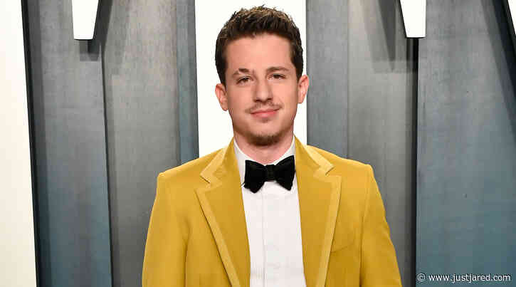 Charlie Puth Goes Colorful at Vanity Fair Oscar Party 2020