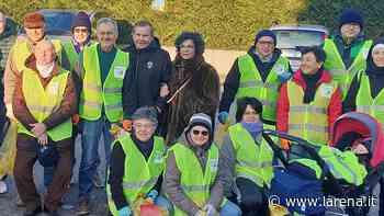 Volontari del gruppo Gas tengono in ordine il paese - L'Arena