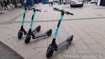 E-Scooter ausleihen in Mannheim, Heidelberg und Ludwigshafen – Richtiges Veralten im Winter | Mannheim - mannheim24.de