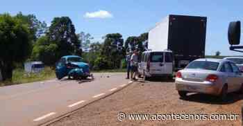 Motorista fica ferido em acidente na VRS 817 em Espumoso - Acontece no RS