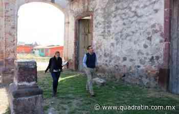 Proyecta SCOP rescate de antigua hacienda El Molino, en Vista Hermosa - Quadratín Michoacán