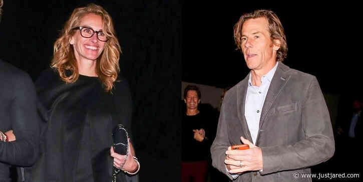 Julia Roberts & Husband Danny Moder Make Rare Appearance During Oscars Weekend