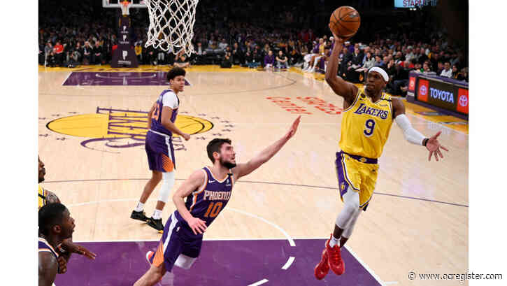 Rajon Rondo's season-best scoring effort helps Lakers crush Suns