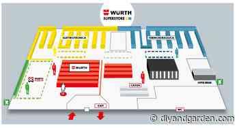 Würth, nuovo superstore a Stezzano - Diyandgarden.com