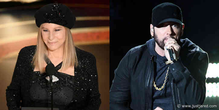 Barbra Streisand Reacts to Eminem's Oscars Surprise, 17 Years After Presenting His Award