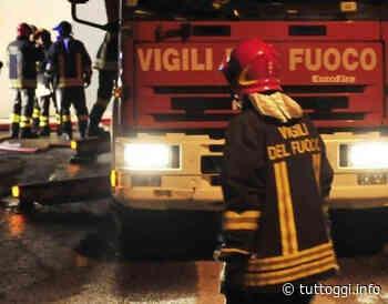 Incendio nella notte a Ponte Felcino - TuttOggi