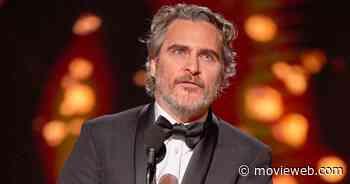 Joaquin Phoenix Wins His First Oscar for Joker
