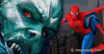 Spider-Man Has Gone Missing in Morbius Reshoot Set Photos
