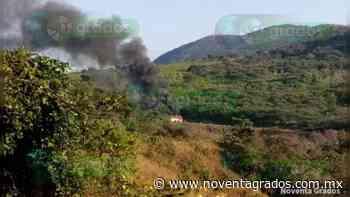 Cártel Jalisco irrumpe en Coalcomán, Michoacán: Tirotean casas y queman autobús; Tepalcatepec en alerta - Noventa Grados