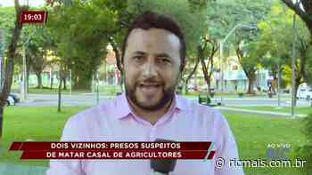 Dois Vizinhos: presos suspeitos de matar casal de agricultores - RIC Mais