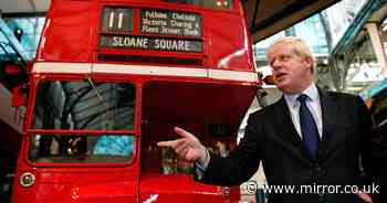 Boris Johnson promises bus passengers £5bn boost with new vehicles and improved routes