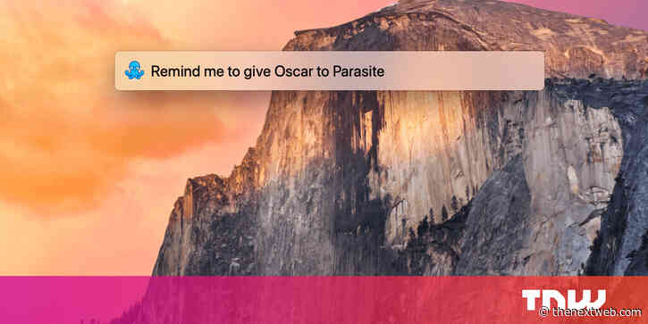 Remember is an app that lets you set reminders from macOS Spotlight