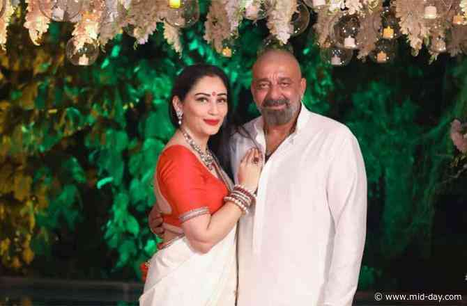 Maanayata Dutt thanks hubby Sanjay Dutt for always being by her side