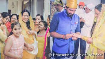 Unseen photographs from Kamya Punjabi's wedding ceremony