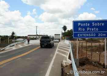 Ponte que liga Santa Cruz e Brejo do Espírito Santo é liberada pelo DER-PB - Paraíba Já