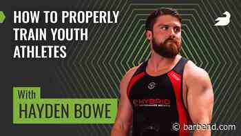 Hayden Bowe: Youth Athletes in Powerlifting and Weightlifting - BarBend