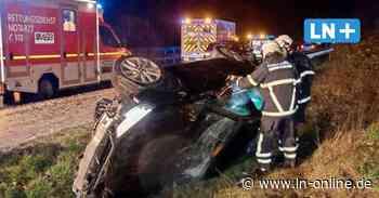 Unfall bei Lensahn - Hagelschauer: Autos schleudern von der Autobahn 1 - Lübecker Nachrichten