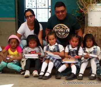 Donaron 2.500 paquetes escolares en Guachucal - Diario del Sur