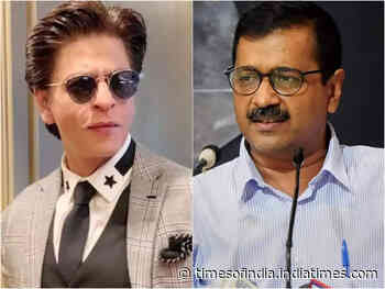 AAP celebrate their victory with SRK's video