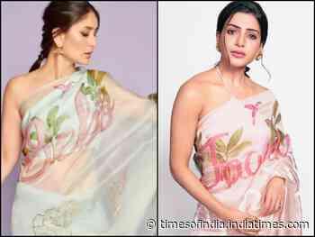 Bebo or Sam: your fav customized saree?