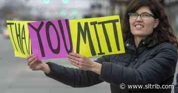 Letter: Glad that Mitt Romney represents us